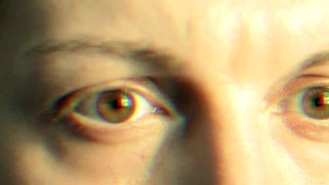 human eye - distorted stock videos and b-roll footage
