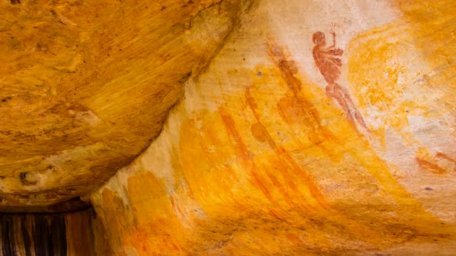 Human figures in Salmanslaagte Bushman Rock Art Trail