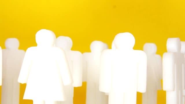 menschliche figuren - weibliche figur stock-videos und b-roll-filmmaterial