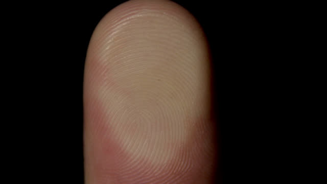 stockvideo's en b-roll-footage met human fingerprint - uitfaden