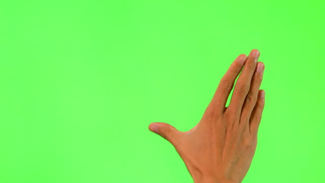 human hand touching green screen - projection screen stock videos & royalty-free footage