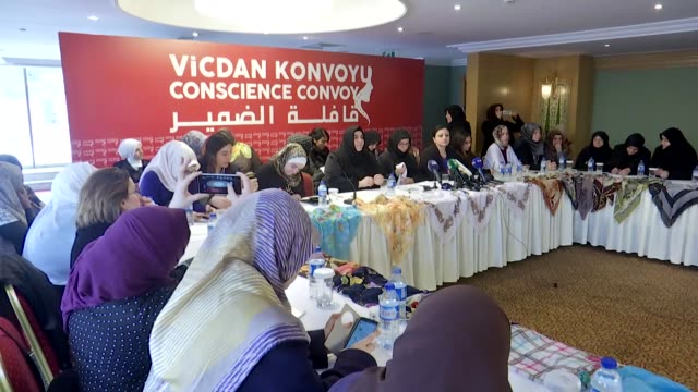 Human Rights and Justice Movement Vice President and lawyer Gulden Sonmez who is leading an allwomen's convoy to raise voices of protest against the...