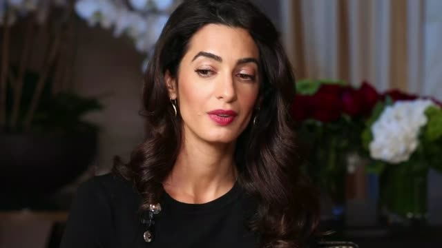 Human rights lawyer Amal Clooney speaks out about Yazidi genocide Amal Clooney interview SOT situations that have called for action by the Security...