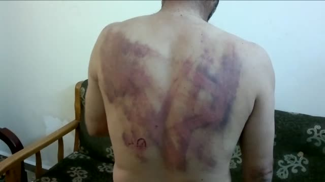 human rights watch accused syrian security and intelligence services of torturing many of the hundreds of protesters detained since anti-government... - torture stock videos & royalty-free footage