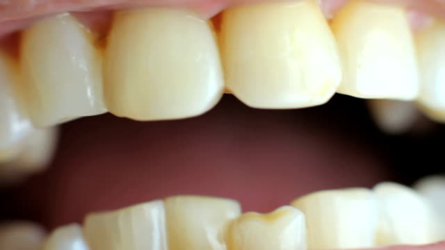 human teeth - human mouth stock videos & royalty-free footage