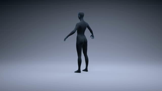 humanoid robot - neural axon stock videos & royalty-free footage