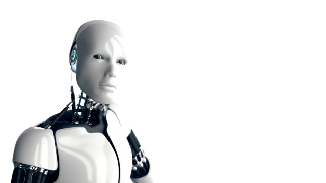 humanoid robot - artificial intelligence stock videos & royalty-free footage