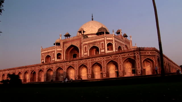 hd humayun's tomb, delhi = hdv123 - bollywood stock videos and b-roll footage