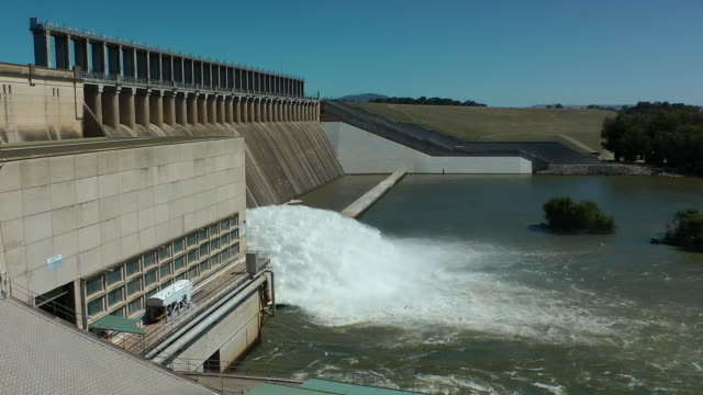 hume weir - dam stock videos & royalty-free footage