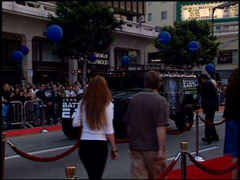 hummer at the 'battlefield earth' premiere at grauman's chinese theatre in hollywood, california on may 10, 2000. - hummer stock videos & royalty-free footage
