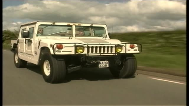 hummer h1 1999 - hummer stock videos and b-roll footage