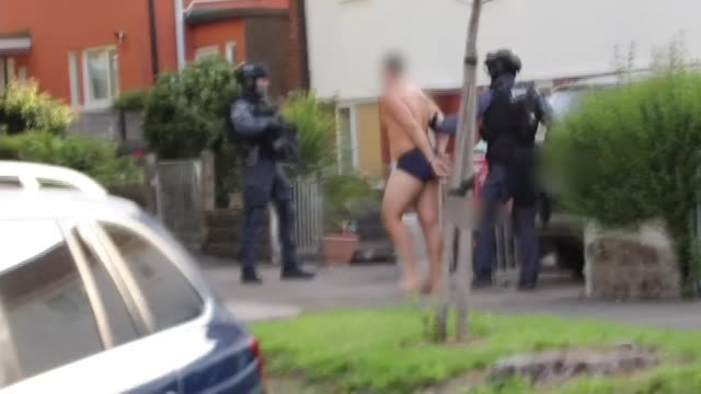 hundreds arrested in raids against organised crime using information gathered from encrypted mobile phone network england various locations ext... - underwear stock videos & royalty-free footage