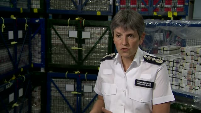 hundreds arrested in raids against organised crime using information gathered from encrypted mobile phone network england london int cressida dick... - cressida dick stock videos & royalty-free footage