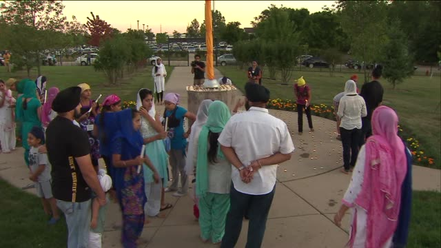 Hundreds Attend Sikh Prayer Vigils In Reaction To Wisconsin Shooting on August 07 2012 in Chicago Illinois