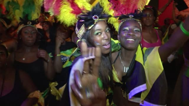 Hundreds gathered in Jamaica House in London Friday to watch the nation's sprinters make a clean sweep of medals in the 200m final London United...