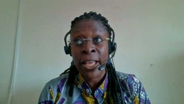 Hundreds killed in Freetown mudslide SIERRA LEONE Freetown INT Ramatu Jalloh interview via internet SOT