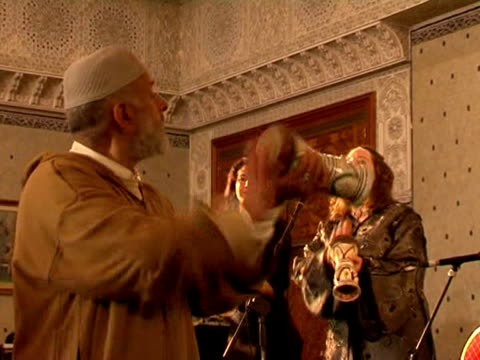 hundreds of europeans convert to islam each year many of them drawn in particular to the mystical sect of sufism fez morocco - sufism stock videos & royalty-free footage