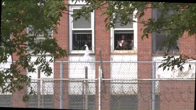 ktvi hundreds of inmates at the st louis city workhouse were held without access to air conditioning even as temperatures topped triple digits on... - st. louis missouri stock videos & royalty-free footage