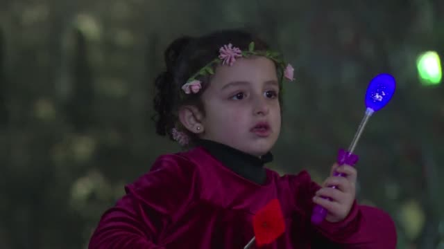 hundreds of palestinians celebrated in bethlehem after a young singer from the occupied west bank city became the second palestinian to win the arab... - singer stock videos & royalty-free footage