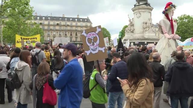 FRA: Anti Monsanto protest starts in Paris