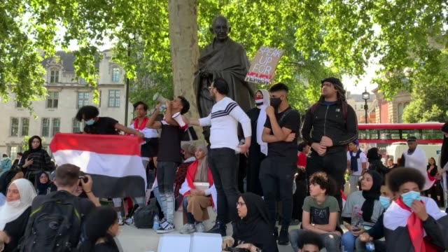 hundreds of people on july 12 gathered in front of the embassy of the united arab emirates, in central london to call on the british government to... - sales occupation stock videos & royalty-free footage