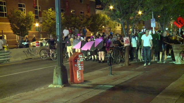 WTVR Hundreds of protesters took to the streets in Richmond Virginia on Aug 13 2017 chanting antiConfederate slogans one day after a NeoNazi plowed...