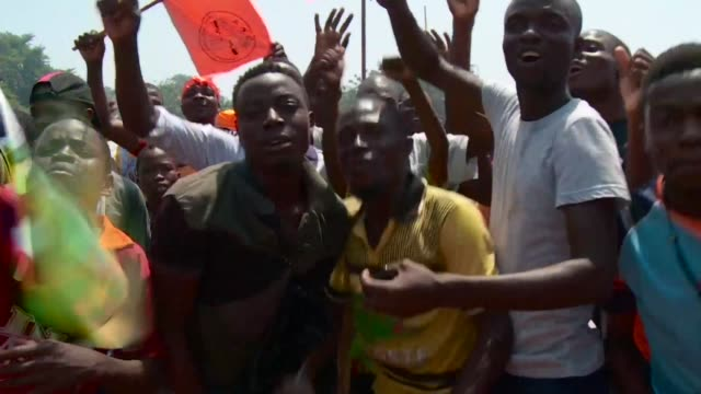 Hundreds of thousands of opposition supporters protest across Togo calling for constitutional reform decrying the terrible salaries and lack of...