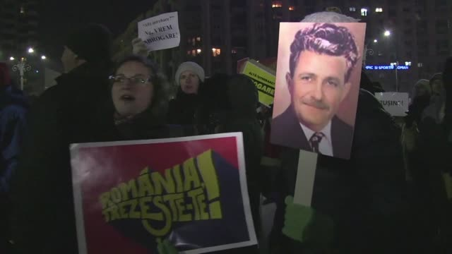 Hundreds of thousands of people hit the streets across Romania to protest the government's decriminalising of a string of corruption offences the...