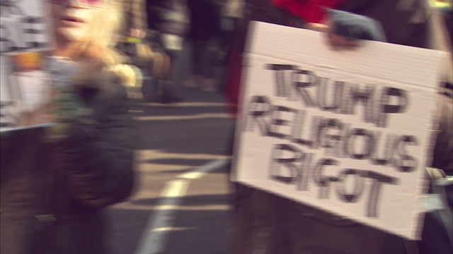 Hundreds of thousands of people rallied together around the world in the Women's March as a show of solidarity against new US President Donald Trump...