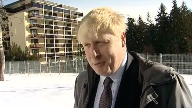Hundreds of volunteers to be deployed during London Underground strike SWITZERLAND Davos EXT Boris Johnson interview SOT [on volunteers being...