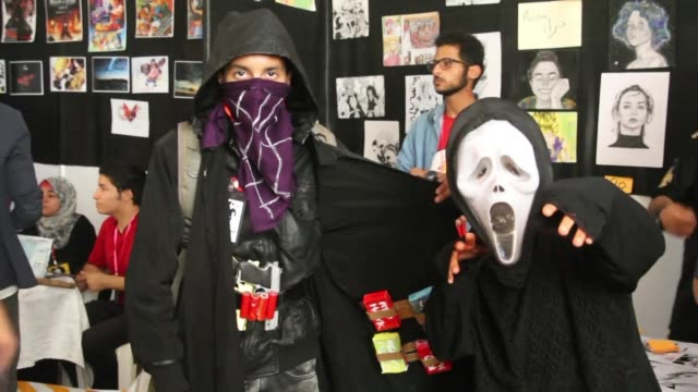 Hundreds of young Libyans Thursday visited the Tripoli Comic Con a festival for fans of sci fi fantasy and pop culture