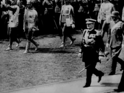 hungarian admiral miklos horthy - hungary stock videos & royalty-free footage