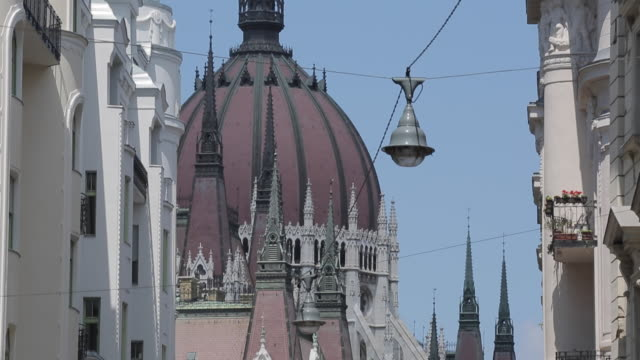 hungarian parliament, budapest, hungary, europe - eastern european culture stock videos and b-roll footage