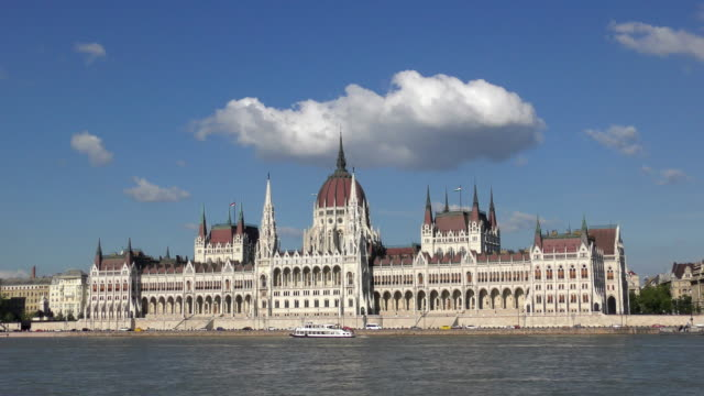 hungarian parliament - budapest, hungary - budapest stock videos & royalty-free footage