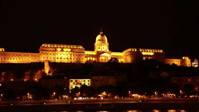 04 hungarian parliament building and danube river - traditionally hungarian stock videos & royalty-free footage