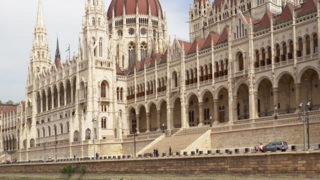 hungarian parliament building in budapest - traditionally hungarian stock videos & royalty-free footage