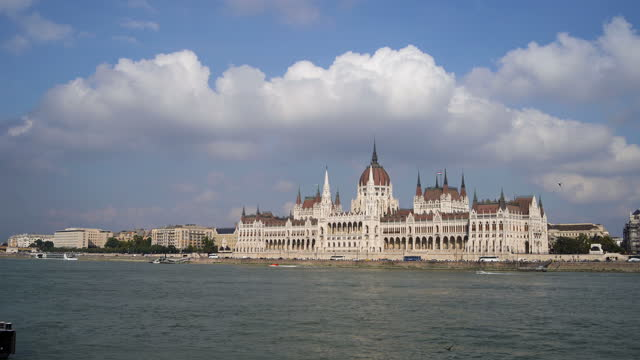 hungarian parliament building in budapest - eastern european culture stock videos & royalty-free footage