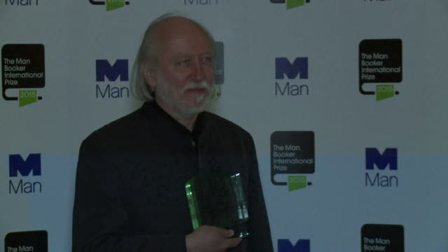 hungarian writer laszlo krasznahorkai won britain's man booker international prize for career achievement on tuesday saying he hoped it would allow... - hungarian culture stock videos & royalty-free footage
