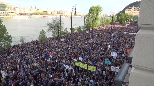 Hungary saw the biggest anti government protest in three years on Sunday as tens of thousands demonstrated against new higher education legislation...