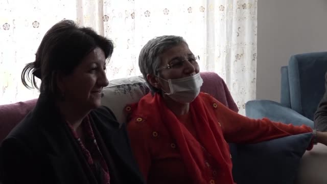 a hunger striking pro kurdish lawmaker is released under supervision from prison by a turkish court and sent home after an 11 week fast that has left... - governmental occupation stock videos & royalty-free footage
