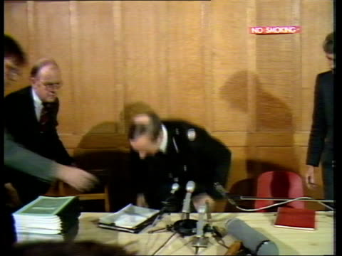 stockvideo's en b-roll-footage met hungerford inquest cms asst chief constable charles pollard out of car into into bldng to bv cms asst chief constable charles pollard takes seat at... - number 9