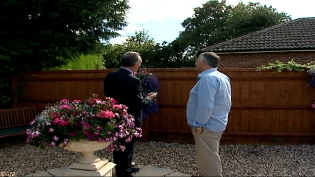 20 years on Trevor Wainwright with reporter / interview SOT