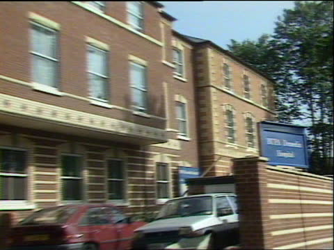 victims; c) england: berkshire: reading: sign outside hospital 'bupa dunedin hospital' pull out building - itv news at one stock videos & royalty-free footage