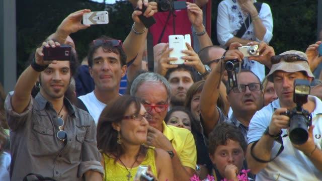 hungry hearts' red carpet - 71st venice international film festival on august 31, 2014 in venice, italy. - 第71回ベネチア国際映画祭点の映像素材/bロール