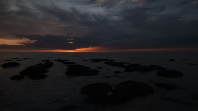 hunstanton rocks - sandstone stock videos & royalty-free footage
