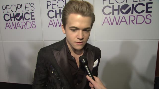 INTERVIEW Hunter Hayes on what this particular award means to him at People's Choice Awards 2015 in Los Angeles CA