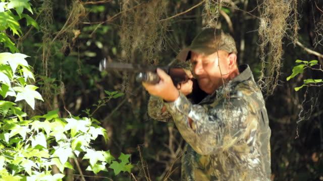 MS Hunter turning and shooting / Madison, Florida, USA