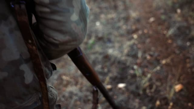 hunting gun stock video - shotgun stock videos & royalty-free footage