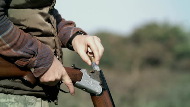 hunting gun - hunting stock videos & royalty-free footage