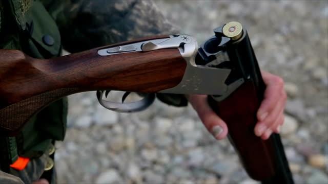 hunting rifle,close up